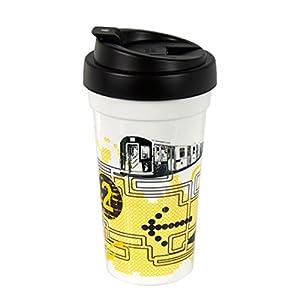 Cool Gear Double Insulated Coffee Tea Travel Mug Black