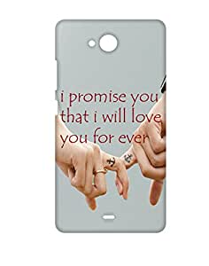 Mobifry Back case cover for Micromax Canvas Play Q355 Mobile ( Printed design)