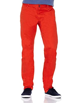 Dockers Pantalón Alpha Khaki (Rojo)