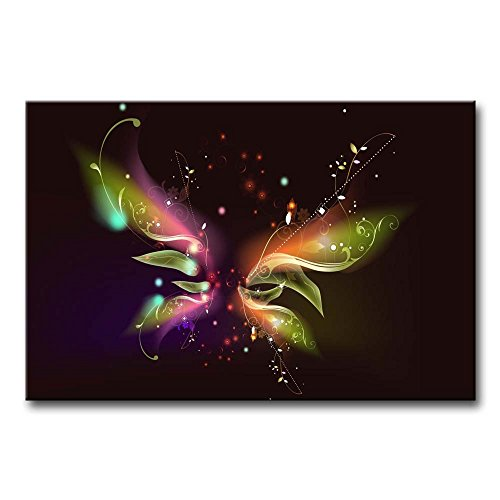 Wall Art Painting Butterfly Pictures Prints On Canvas Abstract The Picture Decor Oil For Home Modern Decoration Print For Girls Bedroom