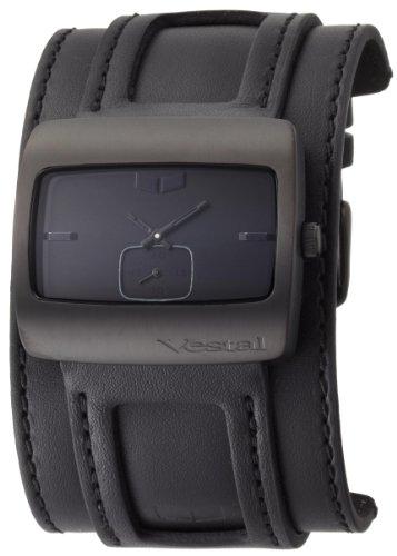 Vestal+Men%27s+SN032+Saint+All+Black+Leather+Watch