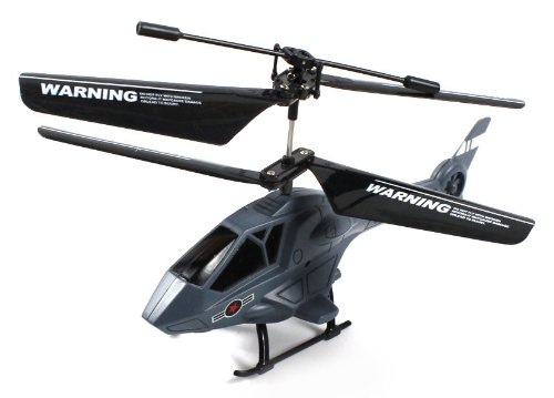 Hyper Apache X21 Electric Rc Helicopter Gyro Gyroscope 2Ch Channel Ir Infrared Ready To Fly Rtf (Colors May Vary)