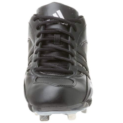 pictures of adidas Men's Excelsior 5 Low Baseball Shoe,Black/Blk/Metsilver,13 M