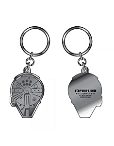 Star Wars Keyring, Officially Licensed Millenium Falcon Keychain