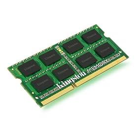 金士顿 4GB 笔记本内存 $19.74Kingston ValueRam 4GB PC3-10600 L9 204-Pin