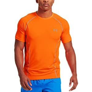 Under Armour HeatGear Sonic Armourvent Manche Courtes Course à Pied T-Shirt - XXL