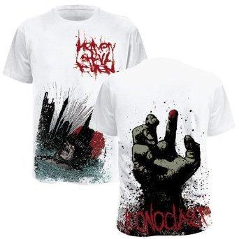 Heaven Shall Burn - Iconoclast T-Shirt, weiss, Grösse S