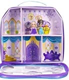 Barbie M0772 - Set de muñecas mini Grabby y Romy en maletín color morado