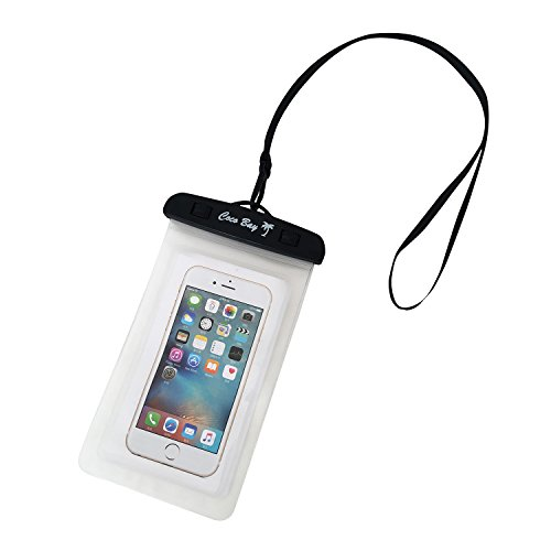 Coco Bay Supply - Waterproof Universal Underwater Phone Pouch, for iPhone 6, 6s plus, 7, Samsung Phones Up To 6.5