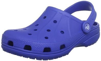 CROCS Kinderschuhe - Clogs FEAT KIDS - sea blue, Größe:25-26