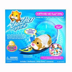 Zhu Zhu Pets Hamster Deluxe Accessory Kit Surfboard and Sleep Dome - 1