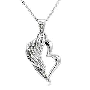 The Broken Wing Sterling Silver Necklace