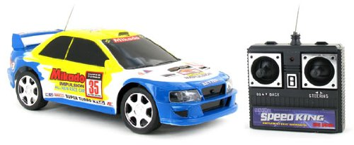 41ePlE6E7aL Buy  1:24 Subaru WRX Rally Racer Electric RTR Remote Control RC Car (Color May Vary)