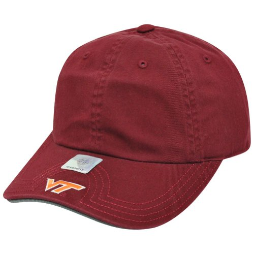 NCAA American Needle Virginia Tech Hokies Flambam Women Ladies Hat Cap Burgundy by Official Collegiate Licensed Product