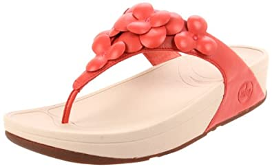 FitFlop Sandals Fleur Mineral Red Mineral Red UK3
