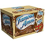 Famous Amos Chocolate Chip Cookies 42-Count, 2-Ounce Package