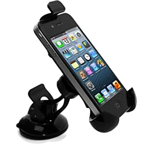 Windshield Dashboard Car Mount Holder For iPhone 5 Verizon 4G LTE, At&T and Sprint