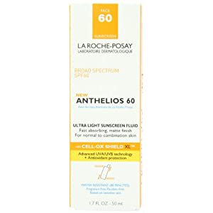 la roche posay anthelios 60 ultra light sunscreen fluid for face 1 7. Black Bedroom Furniture Sets. Home Design Ideas