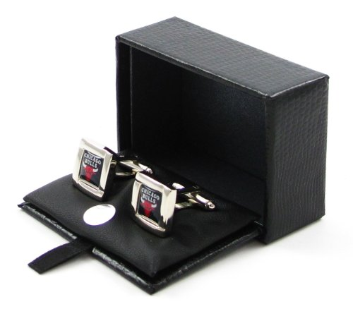 Chicago Bulls - NBA Team Logo Cufflinks