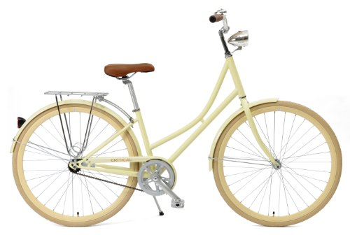 Cheapest Price! Critical Cycles Dutch Style Step-Thru 1-Speed Hybrid Urban Commuter Road Bicycle