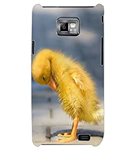 ColourCraft Lovely Chicken Design Back Case Cover for SAMSUNG GALAXY S2 I9100