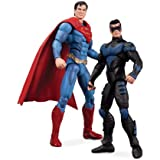 DC Direct - Injustice pack 2 figurines Nightwing vs. Superman 10 cm