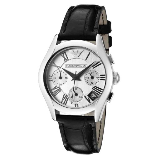 Emporio Armani Women's Quartz Watch AR0670 AR0670 with Leather Strap