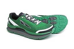 Altra Running Mens Olympus 1.5 Trail Running Shoe, Green/Gray, 10 M US