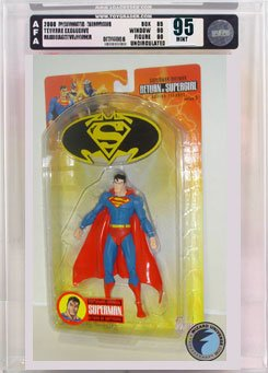 Picture of AFA Superman/Batman 2: Superman Action Figure AFA 95 (B000RYBZHG) (Batman Action Figures)