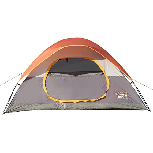 Timber-Ridge-Lightweight-Family-Camping-Tent-with-Compression-Bag-O-Shape-Door-3-Seasons