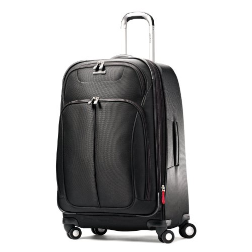 Samsonite Luggage Hyperspace Spinner 26 Expandable Suitcase, Galaxy Black, One Size