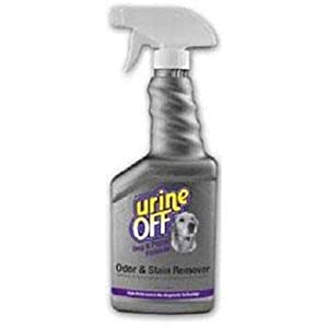 Urine Off Odor and Stain Remover Dog Formula Sprayer Top 16.9oz by Urine Off
