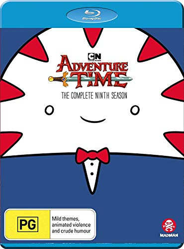 Blu-ray : Adventure Time: Complete 9th Season
