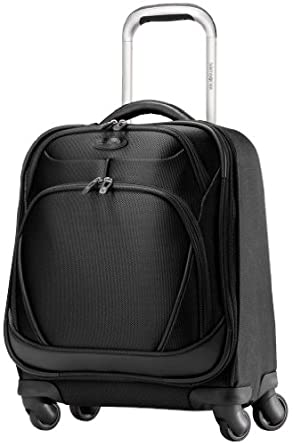 Samsonite Xspace Spinner Tote, Galaxy Black, One Size