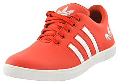 SHOES T20 Men's Red Sneakers - 10 UK
