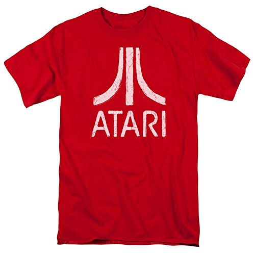 Atari Adult Regular T-Shirt | Atari Classic Logo(X-Large)
