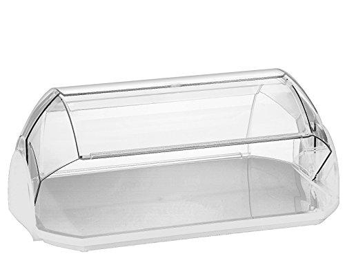 Cosmoplast Cosmo Portadolci Grande, Plastica, Bianco/Trasparente,