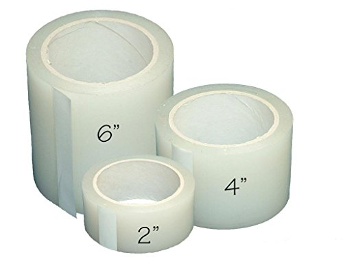 Greenhouse Plastic Poly Permanent Repair Tape UV Clear - Extra Strong (2
