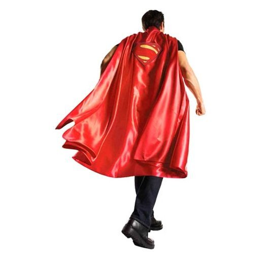 Batman V Superman Dawn of Justice Adult Red Superman Cape,