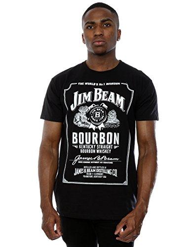 jim-beam-hombre-classic-logo-camiseta-xxx-large-negro