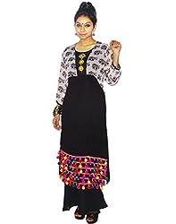 Atulya Festive 3/4 Sleeve Printed Women's Kurti