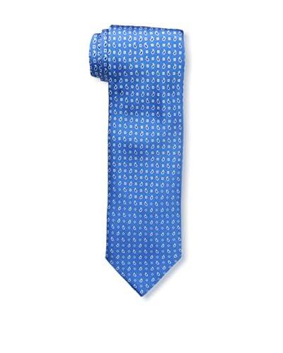 Brioni Men's Paisley Tie, Blue