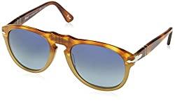 Persol 0649 1025S3 Resina e Sale 0649 Aviator Sunglasses Polarised Lens Categor