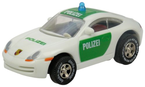 Darda 50313 - Porsche 911 Polizei grün, ca. 7,7 cm