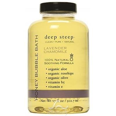 Lavender Chamomile Bubble Bath - 17.5oz/517ml - Liquid by Deep Steep