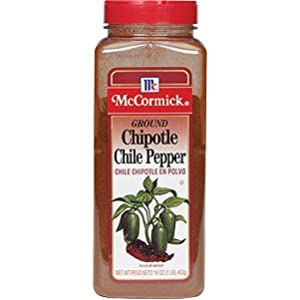 McCormick Ground Chipotle Chile Pepper/16 oz Shaker
