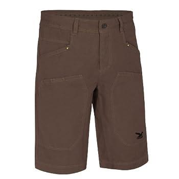 SALEWA 00-0000022571 Pantalon 3/4 d'escalade/loisir en coton pour homme Chalktalk Marron Taille 48 cm