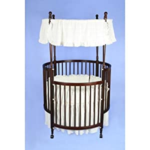 Round Canopy  Safety Cribs for Infants - Bibi's Baby  Kids