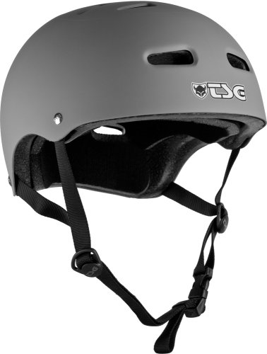 TSG Skate Helmet Flat Gray (LG/XL)