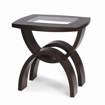 Cheap Helix Rectangle End Table in Hazelnut (T1351-03)